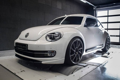256-сильный Volkswagen Beetle Turbo от Mcchip-DKR