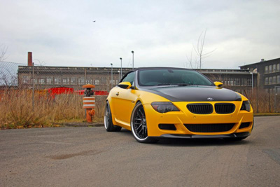 BMW M6 Convertible в тюнинге PP-Performance и Fostla